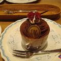 Photos: ランチのデザート「生チョコモンブラン」