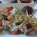 イル ミラジィオのランチブッフェ ひと皿目