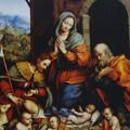 聖ロクスと奏楽の天使のいる降誕