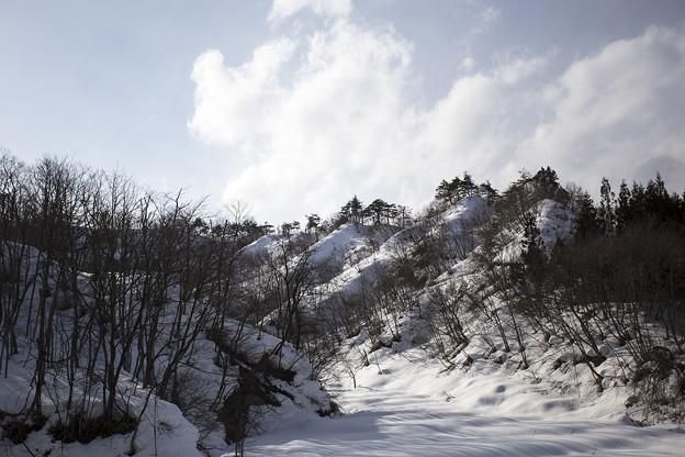 山形・早春の雪景色 05