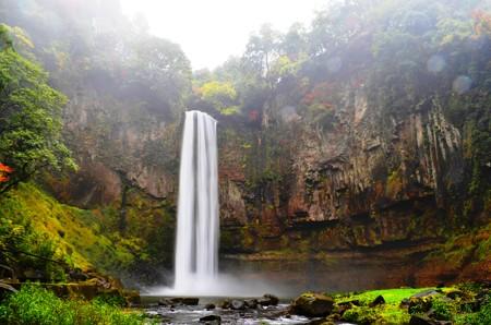『五老ヶ滝@聖地』(わさおの滝撮影の『起点』)