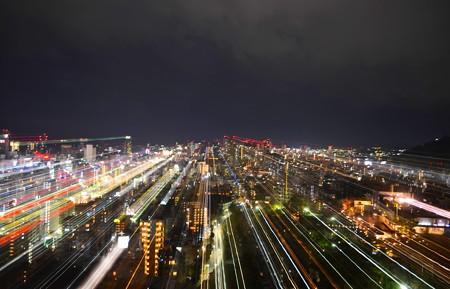 『at night』@KOBE City