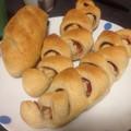 写真: 全粒粉入りフランスパン