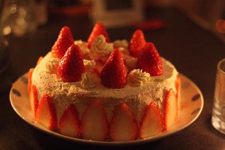 すーさんの誕生日ケーキ