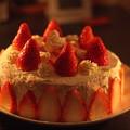 写真: すーさんの誕生日ケーキ