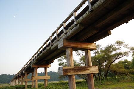 蓬莱橋橋脚