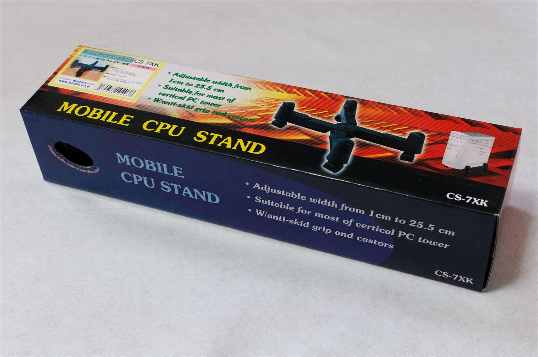 Corsair Obsidian 550DにパソコンケーススタンドCS-7XKを取り付け 001