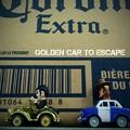 Golden Car to Escape scene 2