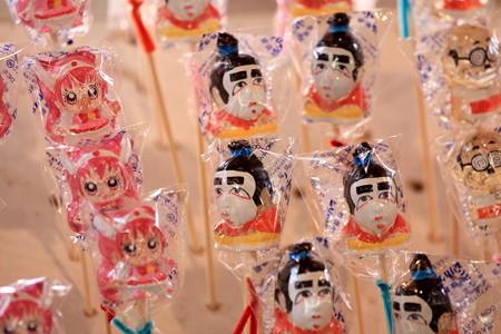 2012.08.05 富士 甲子祭 屋台飴やさん