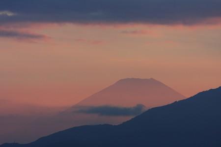 2012.08.24 駅前 富士山