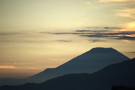 2012.08.25 駅前 富士山