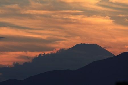 2012.10.01 駅前 富士山