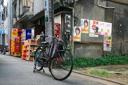 2012.10.17 新橋 高木酒店 自転車