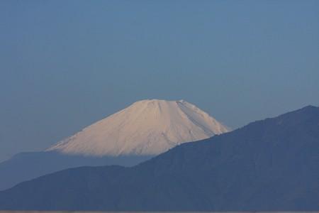 2012.10.29 駅前 富士山