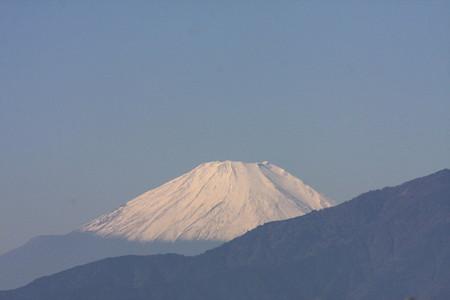 2012.11.08 駅前 富士山
