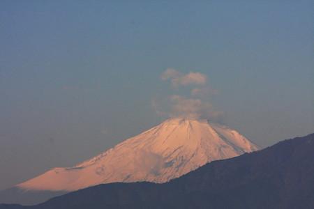 2012.11.14 駅前 富士山