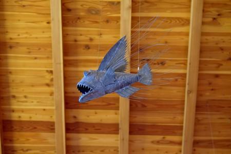 2012.11.27 安曇野 安曇野ちひろ美術館 魚のオブジェ