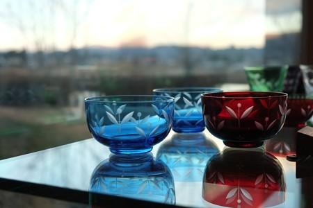 2012.11.27 安曇野 安曇野ちひろ美術館 ガラスの器