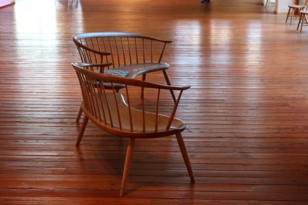 2012.11.27 安曇野 安曇野ちひろ美術館 椅子