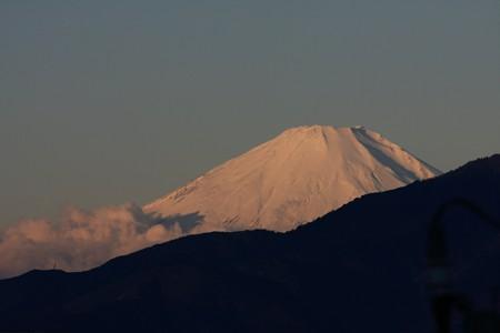 2012.11.27 駅前 富士山
