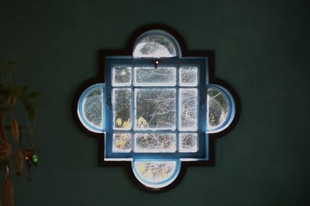 2012.12.05 山手西洋館世界のクリスマス2012 ベーリック・ホール 窓 ベルギー