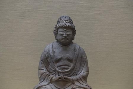 2012.12.06 上野 東京国立博物館 瓦製阿弥陀如来坐像