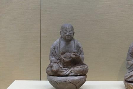 2012.12.06 上野 東京国立博物館 瓦製地蔵菩薩坐像