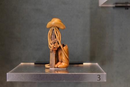 2012.12.06 上野 東京国立博物館 根付 高円宮コレクション カウボーイ デヴィット・カーリン