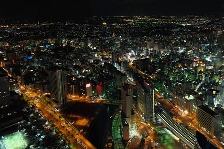 2012.12.09 みなとみらい ランドマーク スカイガーデン 桜木町駅方向
