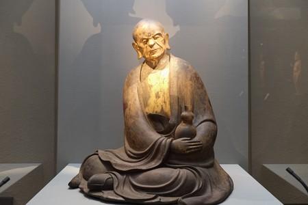 2012.12.06 上野 東京国立博物館 羅漢坐像 第三百六十五号像