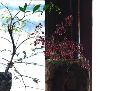 2013.01.28 乳頭温泉鶴の湯 二号館の花瓶