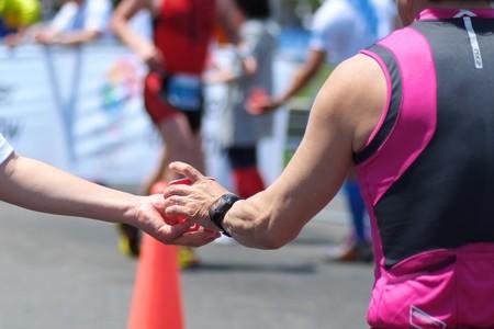 2013.05.12 山下公園 2013世界トライアスロンシリーズ横浜大会 給水