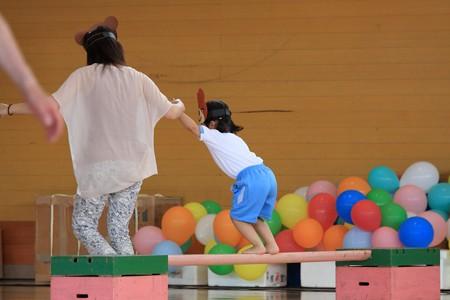 2013.06.16 新潟 幼稚園の運動会 障害物競走