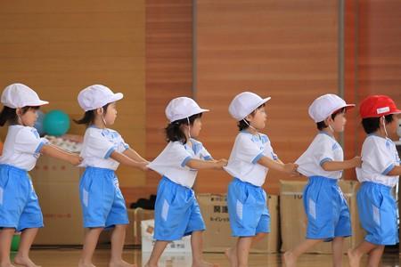 2013.06.16 新潟 幼稚園の運動会 整列移動