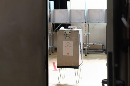 2013.07.21 小学校 投票箱