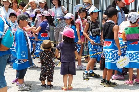 2013.07.27 商店街 山車