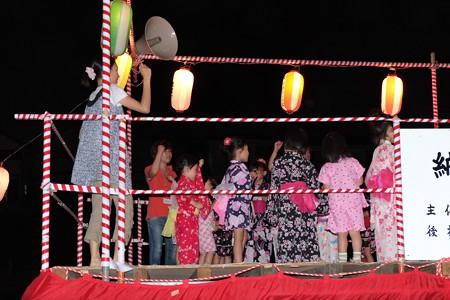 2013.07.27 公園 夏祭り 舞台
