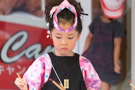 2009.08.04 富士市 甲子祭 屋台 落書き煎餅