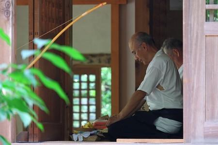 2013.08.09 円覚寺 桂昌庵 閻魔堂 弓道場