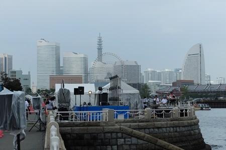 2013.09.07 横浜スパークリングトワイライト 舞台準備