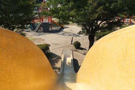 2013.09.21 越後の公園 王子滑り台征服
