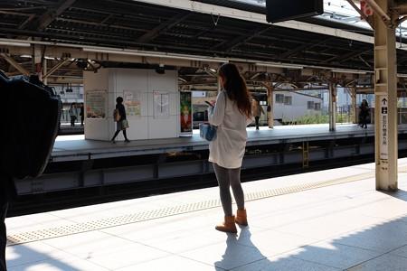 2013.11.01 横浜駅 東海道線ホーム