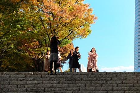 2013.11.13 みなとみらい MARK IS前 踊る人々