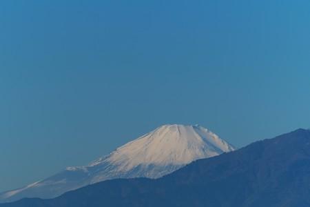 2013.11.21 駅前 富士山
