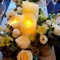 Photos: 2013.11.21 山手 エリスマン邸 テーブルの灯り 本物に見えて