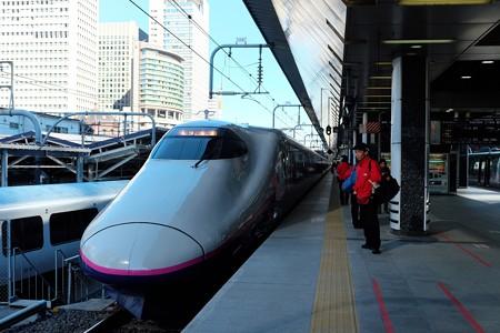 2013.12.22 東京駅 20番ホーム とき314号