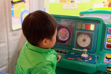 2013.12.24 LaLaport YOKOHAMA 子供電車