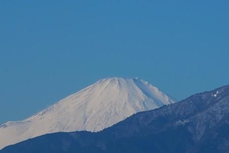 2013.12.28 駅前 富士山