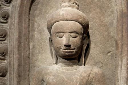 2014.01.08 東京国立博物館 ブッダ坐像 カンボジア・アンコール・トム
