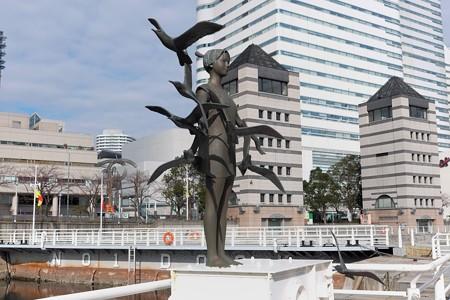 2014.01.14 みなとみらい 海鳥たちの風 峯田義郎
